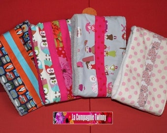 Child Snood cotton fabric - thick and warm