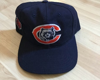 Vintage 90s Chicago Bears American Needle Snapback Hat