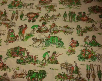 Vintage romantic or vintage fabric
