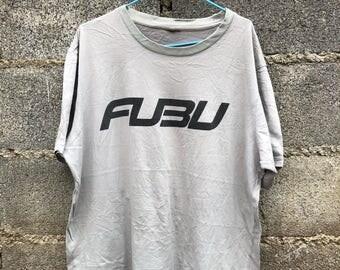 Vintage Fubu Original Logo T-Shirt Size L