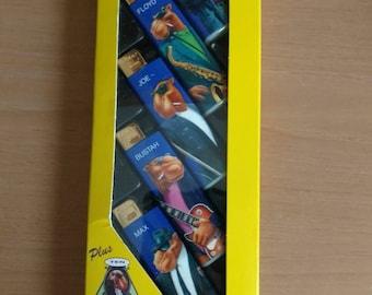 Set of five Camel Cigarettes The Hard Pack Lighters