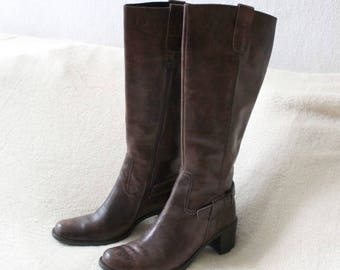 Leather Boots of this-Vera Gomma, vintage