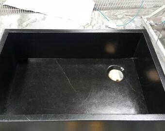 Soapstone Kitchen sink