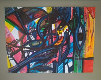 Originals - Various Abstract Drawings/Paintings