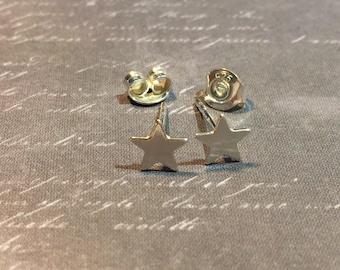 Star star earrings 925 sterling silver