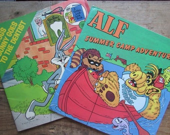 Children's Book Set Alf and Bugs Bunny Paperbacks