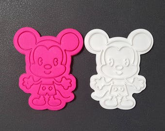 Young Mickey Cookie Cutter and Stamp
