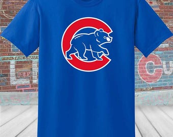 Chicago Cubs Crawl Bear T-Shirt