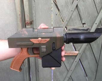 Las Pistol Replica 3DFW Pattern | Warhammer 40K inspired | Life Sized | Unofficial