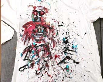 Hand-painted shirt