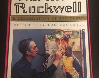 The Best of Norman Rockwell Hardcover Book with Dust Jacket