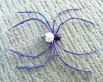 crystal purple spider