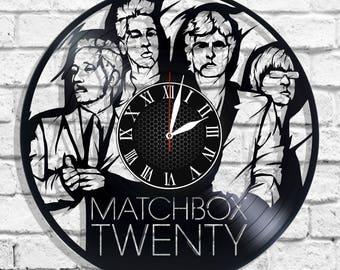 Matchbox Twenty rock band design wall clock, Matchbox Twenty wall poster
