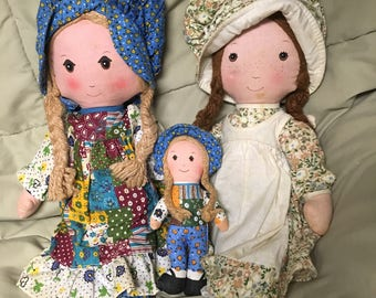 Vintage Holly Hobbie w/doll and Heather