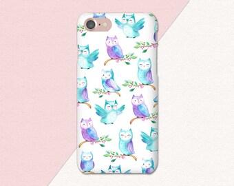 Owls Everywhere iPhone 7 Plus Case, iPhone 6 Plus Case, iPhone Case 7 6s Plus 5, iPhone 7, Owl iPhone Case, Cute Owl Phone Case, iPhone SE