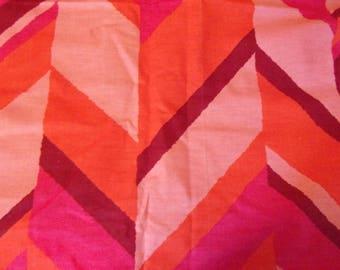 Mod Mid Century Screen Print Fabric 4 Yards