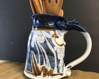 Beautiful handmade ceramic pitcher