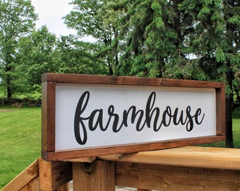 Farmhouse Sign, Farmhouse, Farmhouse Wood Sign, Farmhouse Decor, Wood Sign, Rustic Sign, Fixer Upper, Gallery Wall Sign,