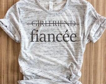 I said yes shirt,fiancee shirt,i said yes shirts,engaged af,bride gift, bachelorette party shirt, bachelorette,bridal shirt,engagement shirt