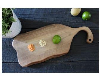 Charcuterie Board, Black Walnut, Artisan Serving Board, Wood Serving Tray, Cheese Platter