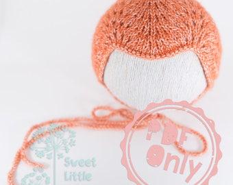 pdf josie mae bonnet baby girl button bonnet pattern size. Black Bedroom Furniture Sets. Home Design Ideas