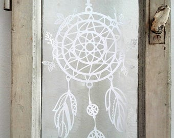 Dream Catcher made of paper for hanging