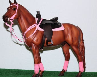 Traditional Breyer Horse Western Tack Set