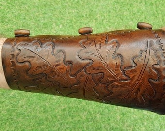 Handmade Leather Archery Bracer / Archer's Arm Guard