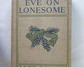 1904 Christmas Eve On Lonesome Book John Fox Jr 1st Edition Hardcover Vintage
