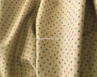Moda Fabric Gooseberry Lane - Floral Twigs Triangles by Kansas Troubles - Sold by the Yard