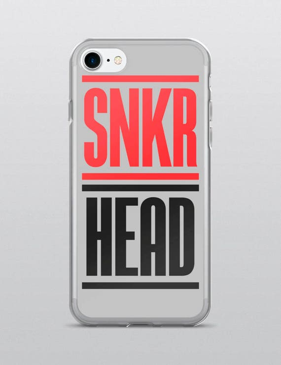 SNKR HEAD (Gray) | iPhone Case