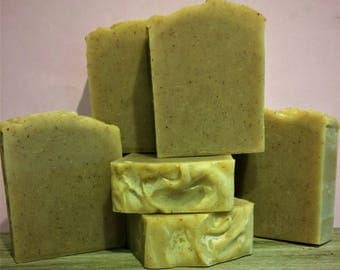 Red Sandalwood & Frankincense Essential Oil Soap
