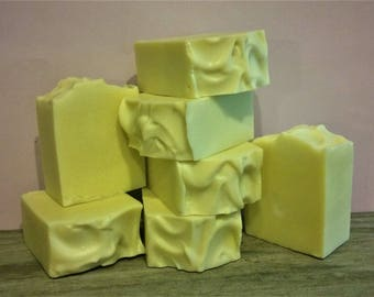 100% Organic Olive Oil Soap, Unscented  or Lavender Essential Oil