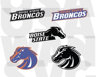 Boise State Broncos svg, Boise State Broncos  png, Boise State svg ncaa basketball football university dxf logo vector instant download