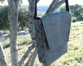 Rectangular bag mixed - OOAK