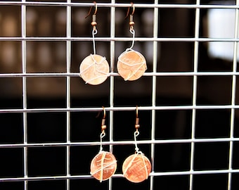 New Penny Earrings
