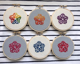 """Rochester Flower City 3"""" Embroidery"""