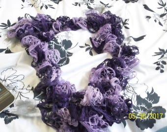 Crochet Scarf, Scarf, Lace Scarf