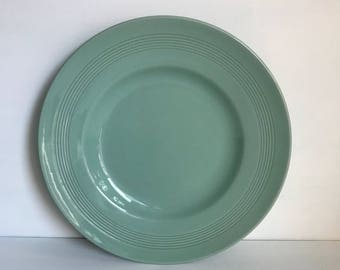 Large Woods Ware Beryl Plate 9.5 inches Diameter
