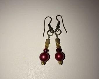 Copper Coper Earrings