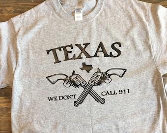 Texas - Guns - shirt