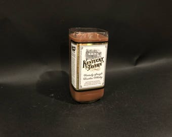 Kentucky Tavern Candle Bourbon Whiskey BOTTLE Soy Candle. 750ML. Made To Order !!