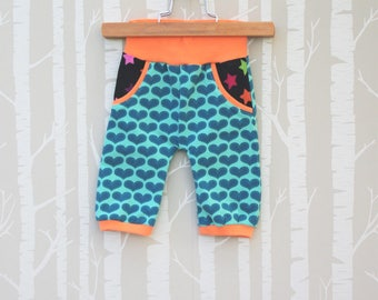 Summer trousers, Slimfit, size 80, gift