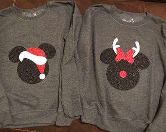 Disney Christmas Pullover Sweatshirt
