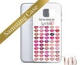 LipSense Color Chart Samsung Case | LipSense 50 Colors | LipSense | LipSense Phone Case | SeneGence | LipSense Gifts | LipSense Distributor