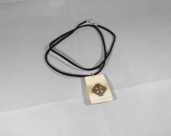Norse necklace Celtic Cross