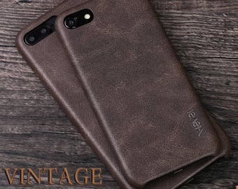 iPhone 7 iPhone 7 plus vintage leather case