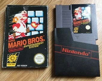 Super Mario Bros. Nintendo NES Game Cartrdige BOXED