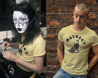 KISS Ace Frehley Vintage 1974 Muther's Music Emporium T-Shirt Replica Sizes S, M, L, XL, 2XL, 3XL