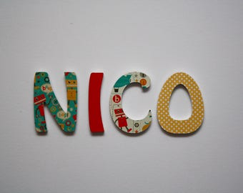 Personalized letters